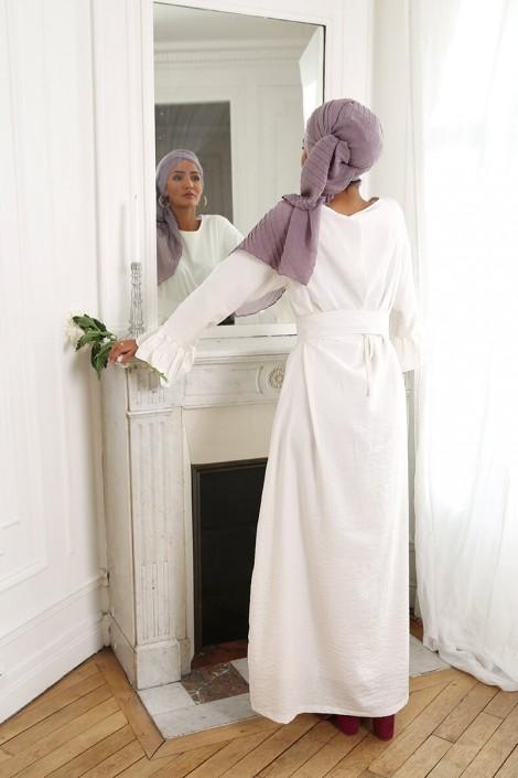 Robe Sahel Blanc