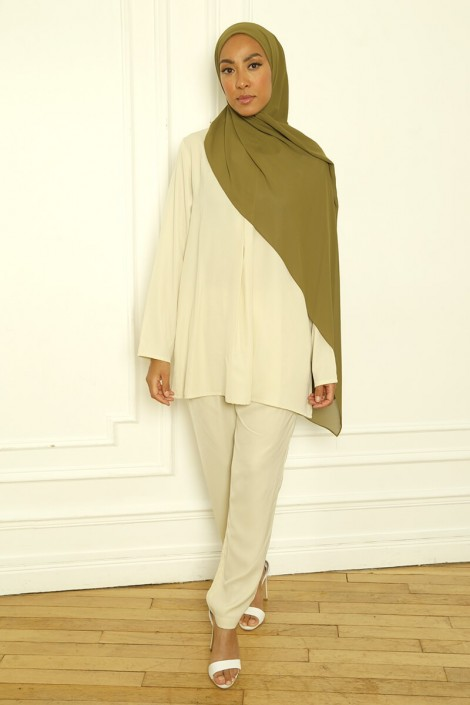 Ensemble Basic Louna Beige clair