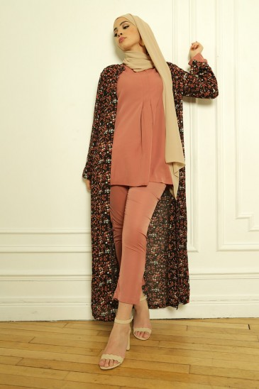 Ensemble Basic Louna Marsala pas cher & discount
