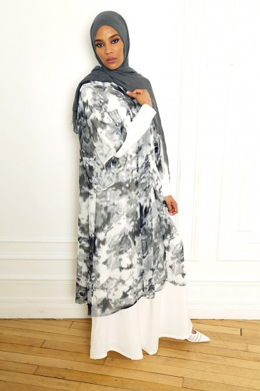 Kimono Majda Noir pas cher & discount