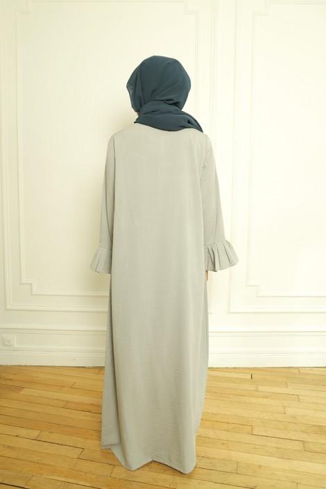 Robe Sahel Gris Perle