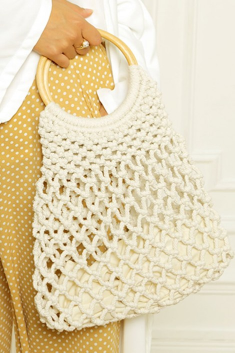 Sac filet crochet
