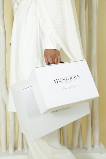 Boite cadeau blanc Grande taille XXL pas cher & discount