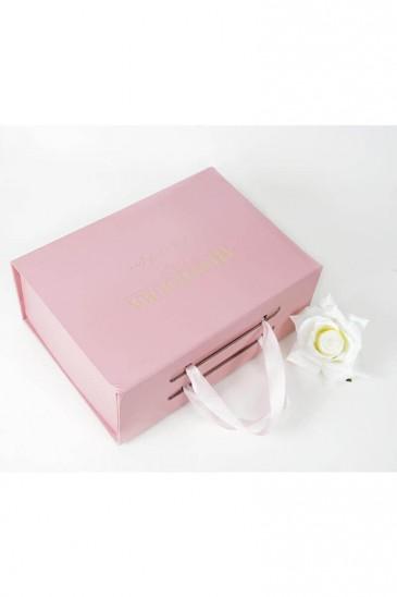 Boite cadeau rose Grande taille pas cher & discount
