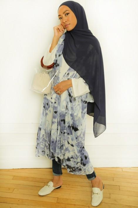 Kimono Majda Bleu