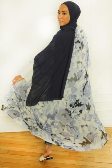 Kimono Majda Bleu pas cher & discount