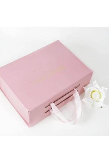 Boite cadeau rose petite taille pas cher & discount