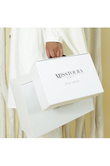 Boite cadeau blanc Petite taille pas cher & discount