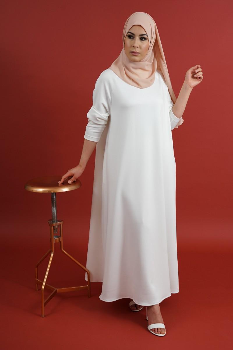 70 idées avec la robe blanche dentelle en tendance