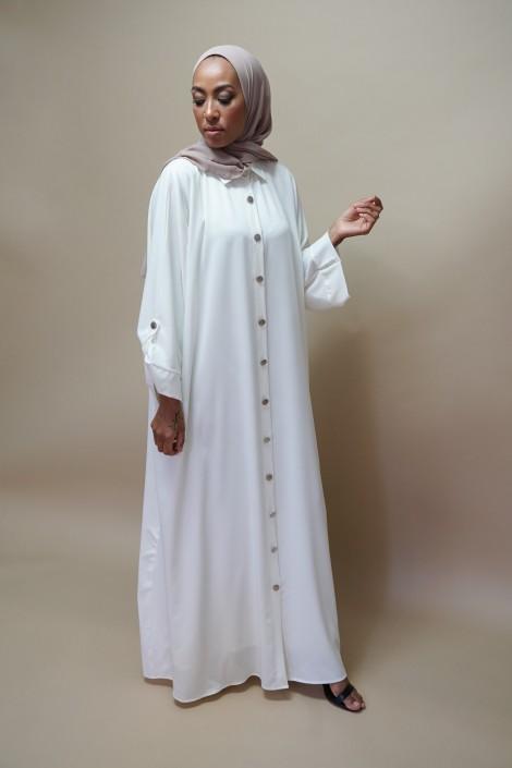 Robe Peonia Blanc