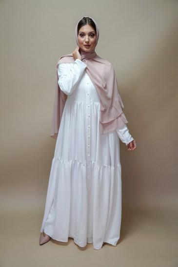 Robe Perihane Blanche pas cher & discount