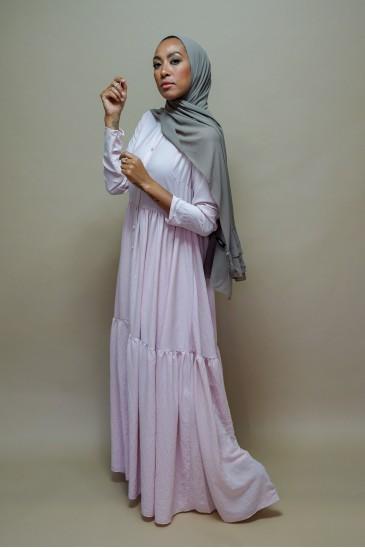Robe Perihane Rose Poudre pas cher & discount