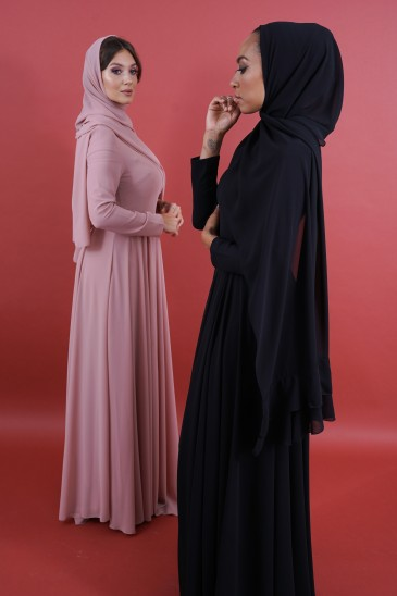 Robe Meena Noir pas cher & discount