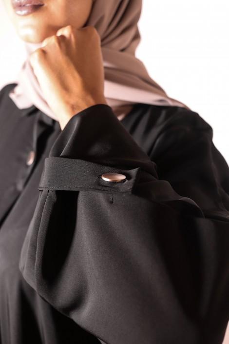 Robe Peonia Noir