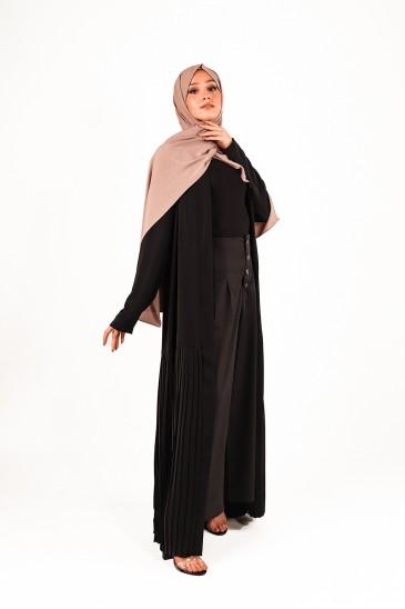 Abaya Laya Noir pas cher & discount