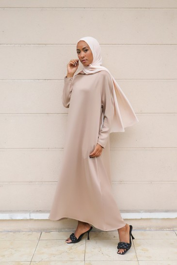 Robe Neof Camel pas cher & discount