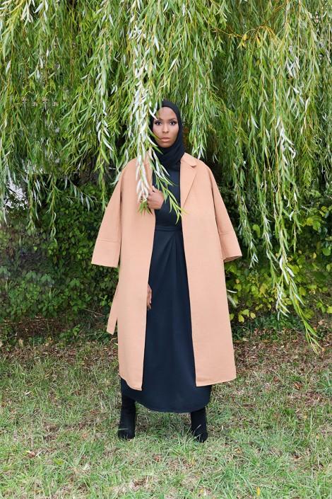 Manteau Sakura Camel