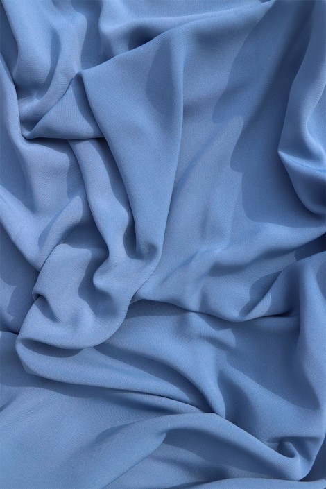 Soie de Medine Bleu charette