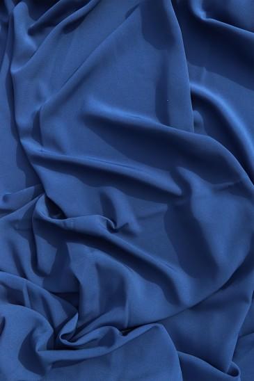Soie de Medine Bleu Cobalt pas cher & discount