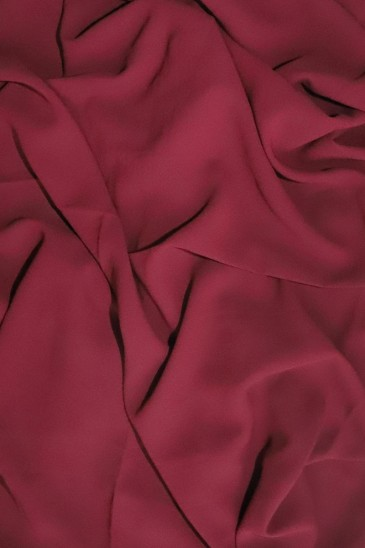 Hijab mousseline opaque XXL Prune pas cher & discount