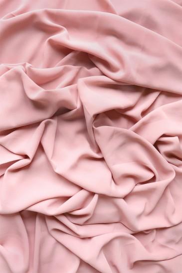 Hijab mousseline opaque XXL Rose pas cher & discount