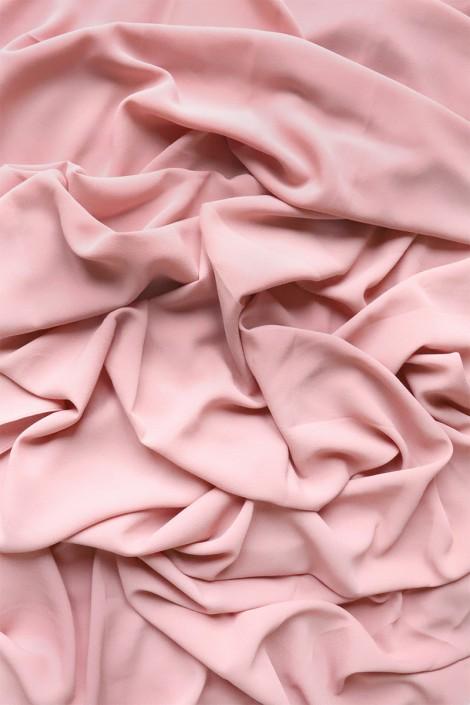 Hijab mousseline opaque XXL Rose