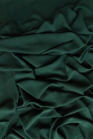 Hijab mousseline opaque XXL Vert Sapin pas cher & discount