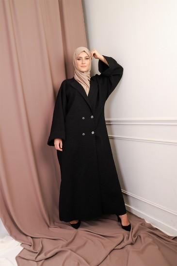 Abaya Coat Brocard pas cher & discount