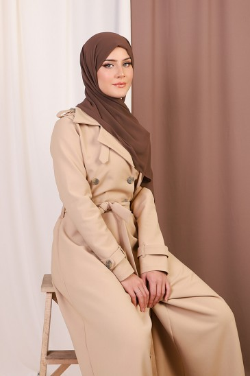 Combi-Trench Chloé Camel pas cher & discount