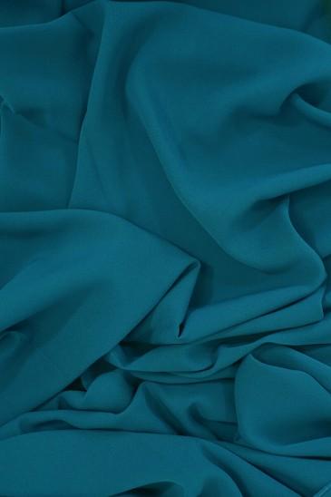 Soie de Medine Bleu Canard pas cher & discount
