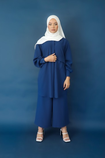 Pantalon Elah Bleu Petrole pas cher & discount