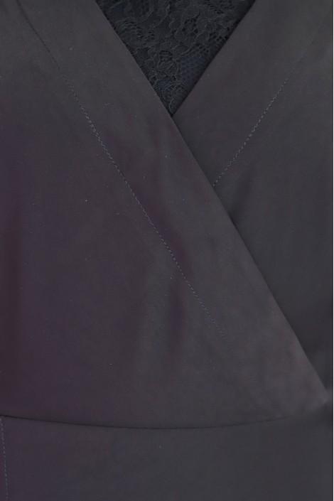 Robe Alyssah Noire Dentelle