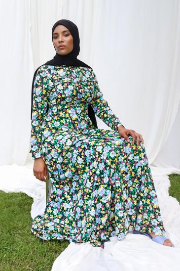 Robe imprimée Isma pas cher & discount