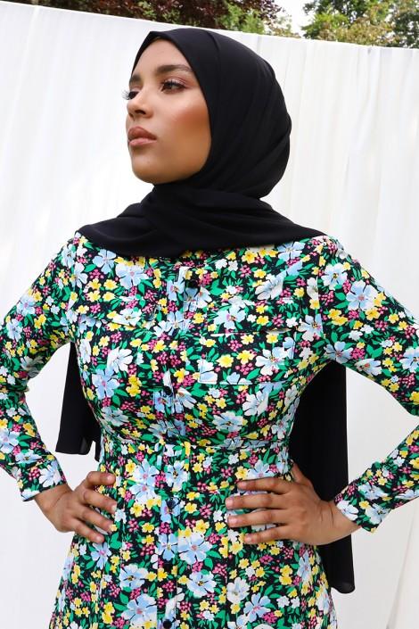 Robe imprimée Isma