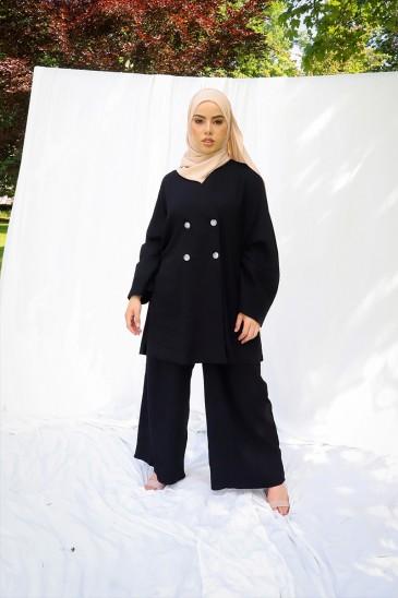 Pantalon Mika Noir pas cher & discount