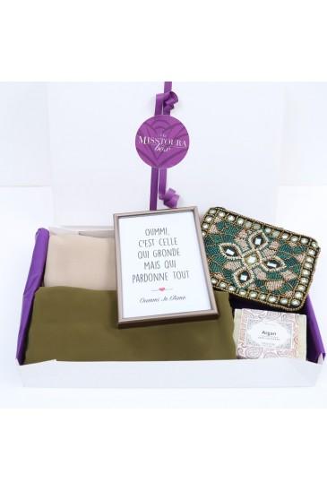 Kenza Box Vert pas cher & discount