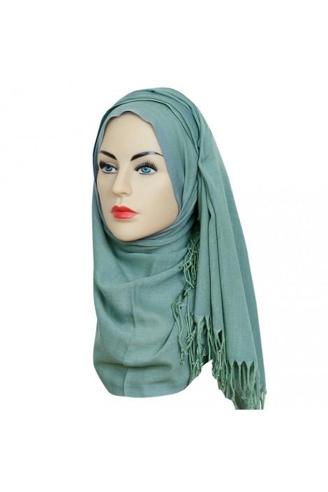 Pashmina royal - Tons Vert -