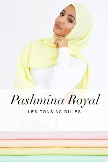 Pashmina les tons acidulés pas cher & discount