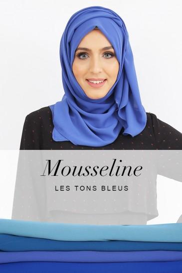 Hijab Armel - Les tons Bleu - pas cher & discount