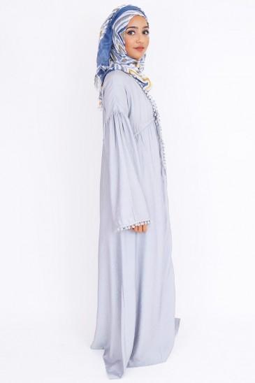 Kimono Tajiha gris pas cher & discount
