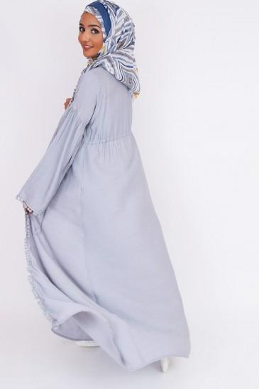 Kimono abaya hijeb fashion tuto hijab pas cher & discount