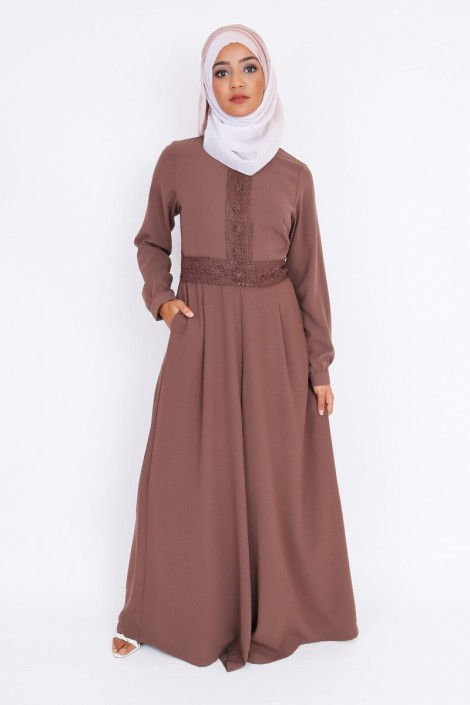Combinaison abaya Baya pantalon palazzo musulman