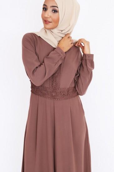 Combinaison abaya Baya pantalon palazzo musulman pas cher & discount