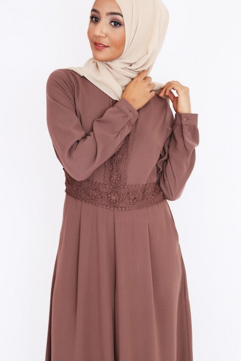 Combinaison abaya Baya pantalon large pour femme voilée