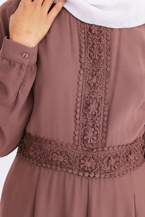 Combinaison abaya palazzo pour femmes voilées
