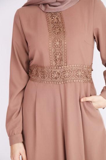Combinaison abaya maxi dress robe orientale pour femmes voilées musulmanes pas cher & discount