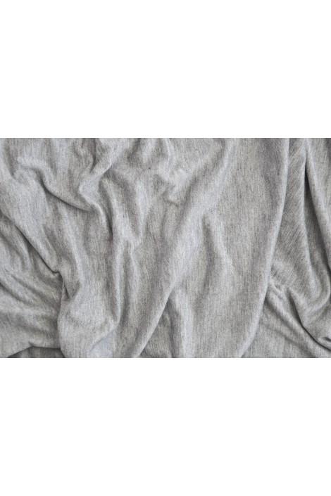 Snood Cagoule gris chiné