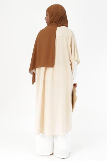 Kimono Denya beige pas cher & discount