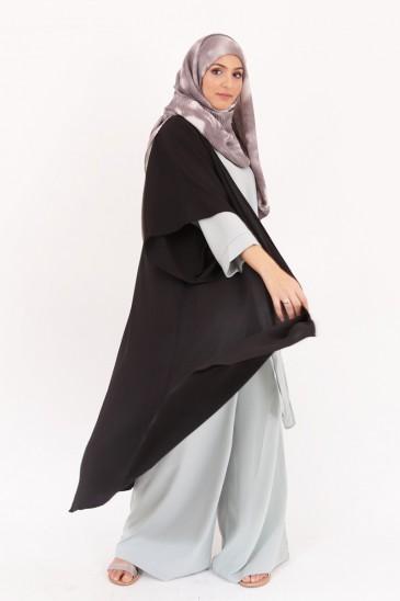 Kimono Denya noir pas cher & discount
