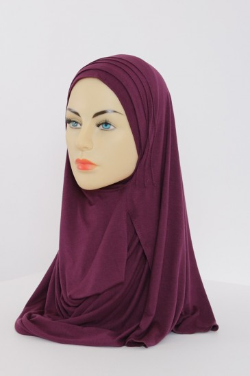 HIJAB Emma Prune pas cher & discount